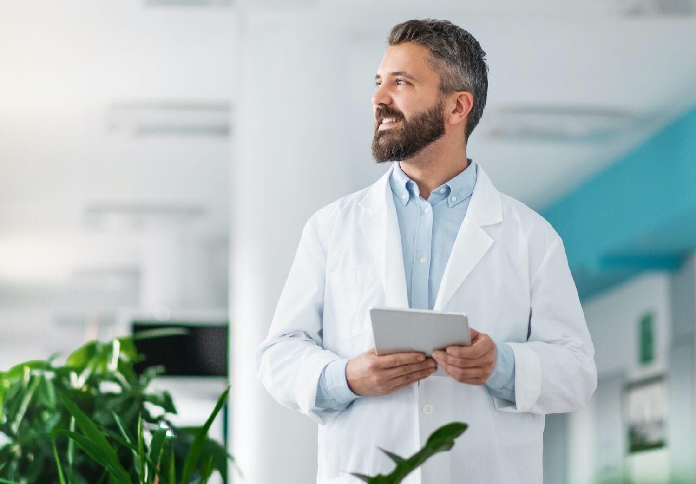 Wystawienie e-skierowania - Lekarz w szpitalu