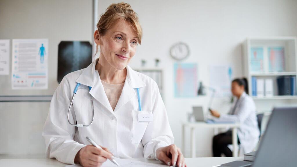 Obowiązkowe e-skierowanie - lekarka prowadząca wizytę online