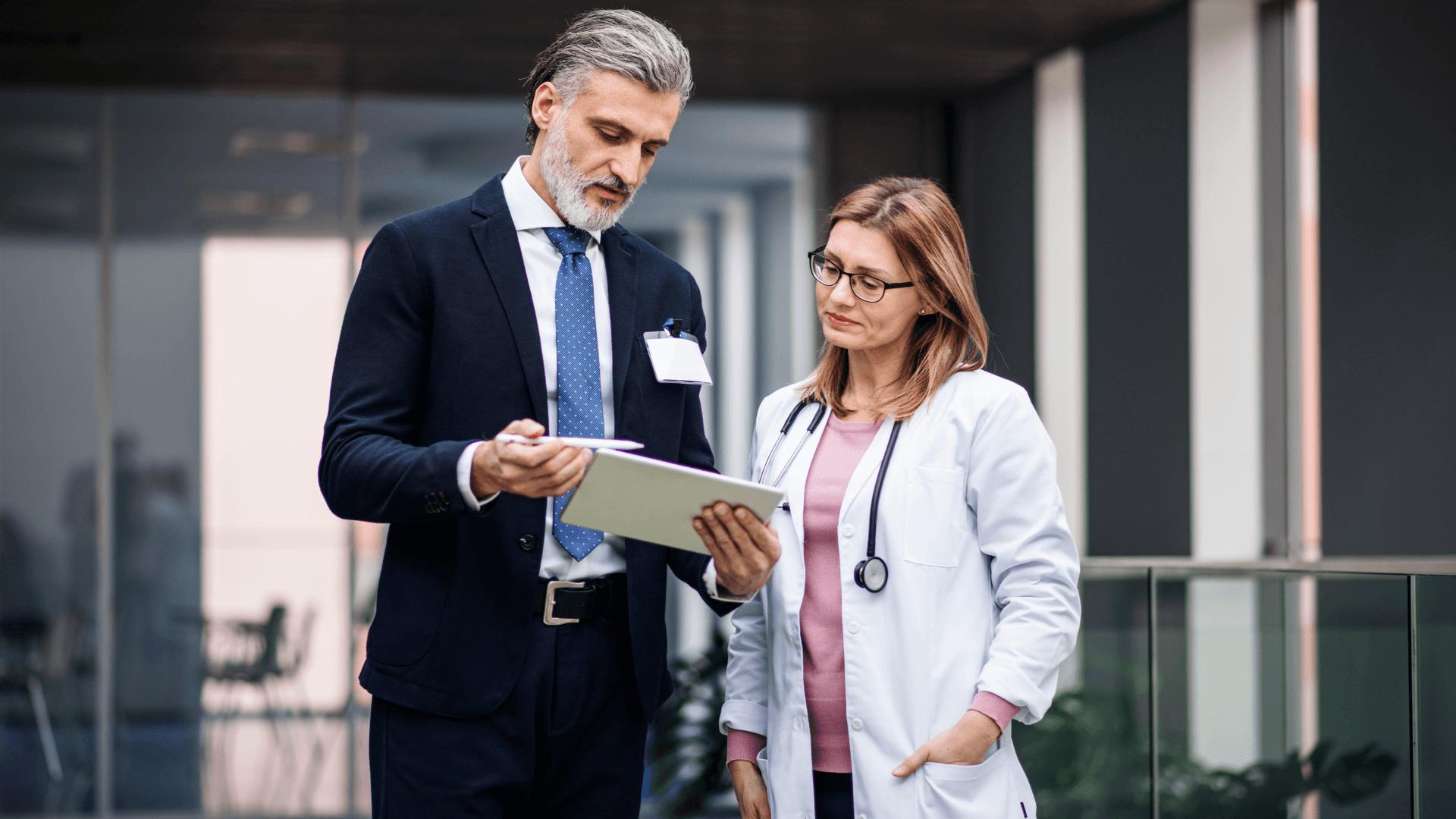 Dofinansowanie zakupu oprogramowania drEryk - Przedstawiciel handlowy z lekarką